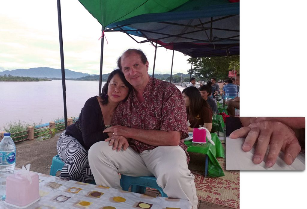 Anniversary by the Mekong