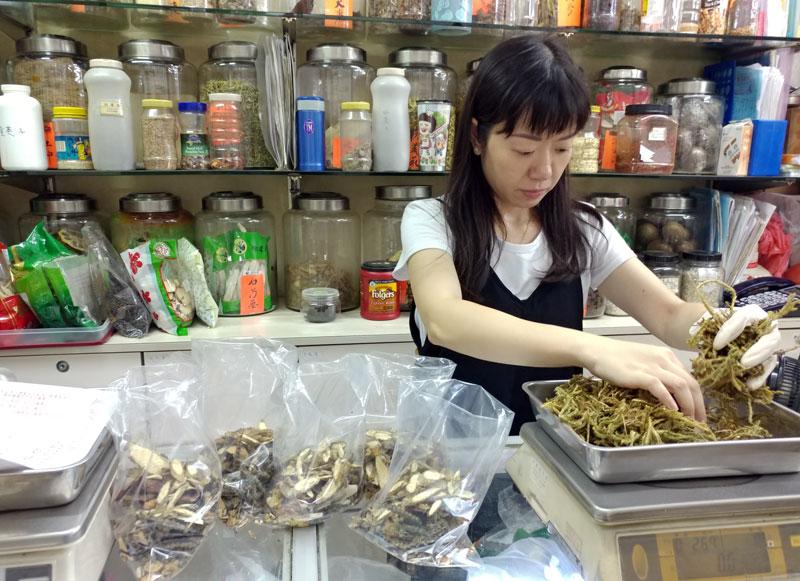 Chinese medicine preparation